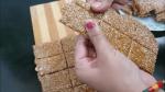 Sesame Seeds And Peanut Chikki Or Gajak